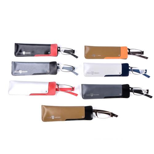 El último modelo de diseño de moda precio barato gafas venta caliente TR90 metal gafas de lectura mejor calidad