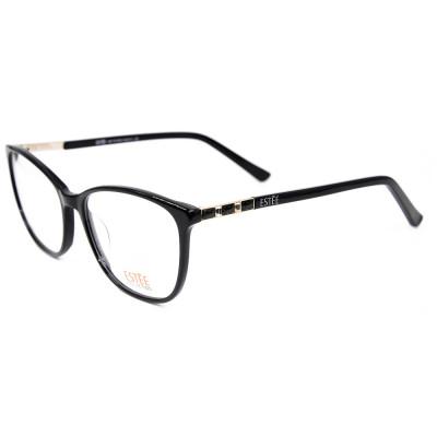 نموذج جديد جودة عالية أزياء المرأة النظارات الماس خلات إطارات النظارات البصرية للسيدات