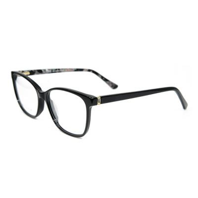 حار بيع عالية الجودة أزياء نمط بسيط المرأة النظارات إطارات النظارات خلات البصرية لسيدة