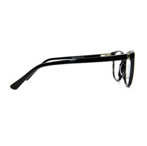 La venta simple de alta calidad de la moda del estilo de las mujeres del espectáculo enmarca las lentes ópticas del acetato para la señora