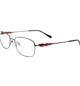 مصنع جديد مخصص الأزياء الفاخرة تصميم النظارات إطارات معدنية مريحة النظارات البصرية