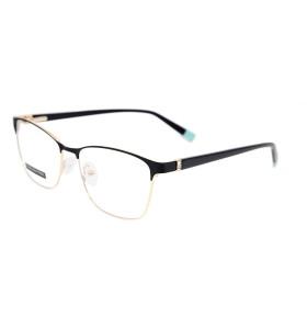 الجملة أزياء شعبية تصميم الماس المرأة النظارات إطارات النظارات البصرية المعدنية للسيدات