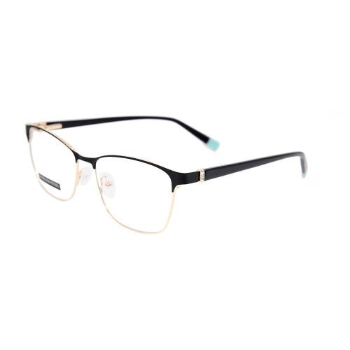 Marcos ópticos al por mayor de las gafas del metal de las lentes del metal del diseño de la moda al por mayor para las señoras