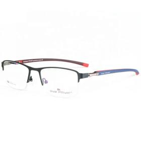 نموذج جديد أزياء نمط halfrim إطارات النظارات المعدنية TR90 معبد eyeglassframe البصرية للرجل