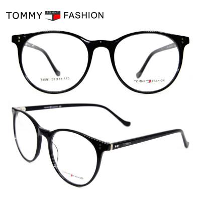 حار بيع الأزياء تصميم جولة النظارات إطارات رقيقة جدا خلات النظارات الإطار البصري