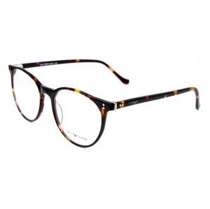 Las gafas redondas del diseño de la moda de la venta caliente enmarcan el marco óptico de la lente ultra fina del acetato