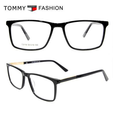 Top quality ultra thin acetate eyewear frame fashion square glasses optical frames