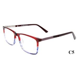 Marcos ópticos ultra finos de acetato de alta calidad gafas cuadradas de moda marcos ópticos