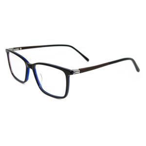 Marco óptico de la moda del estilo de la moda de la venta superior marcos de los vidrios ópticos ultra finos del acetato