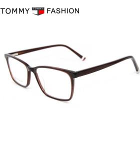 Gafas ligeras del diseño al por mayor de la moda con los marcos ópticos de la lente del acetato para los hombres