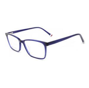 Toptan moda tasarımı erkekler için asetat optik gözlük çerçeveleri ile hafif gözlük