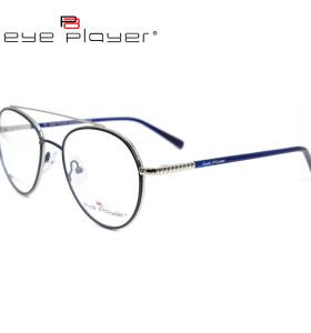 أحدث موضة جديدة مخصصة دائم جولة نظارات معدنية مرونة الربيع النظارات البصرية إطارات