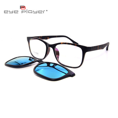Top sale best quality fashion TR90 sunglass magnetic polarized lens clip on sunglasses unisex