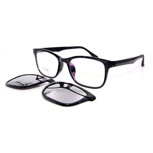 En satış en kaliteli moda TR90 güneş gözlüğü manyetik polarize lens üzerinde güneş gözlüğü unisex klip