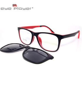 استعداد الأسهم عالية الجودة TR90 كليب المغناطيسي على النظارات الشمسية مع عدسة الاستقطاب للجنسين