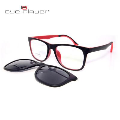 Готовый сток высококачественной магнитной клипсы TR90 на солнцезащитные очки с поляризованной линзой унисекс