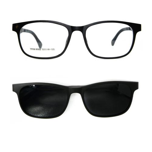El clip de lente polarizado magnético de gafas de sol de alta calidad más popular en gafas de sol unisex