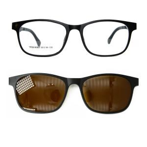 En popüler yüksek kalite moda güneş gözlüğü güneş gözlüğü üzerinde sunglass manyetik polarize lens klip unisex
