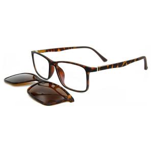Yeni model özel moda renkli sunglass manyetik polarize lens güneş gözlüğü unisex klip