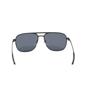 Gafas de sol clásicas clásicas al por mayor del metal de los vidrios de sol del puente del modelo nuevo al por mayor con la lente de nylon