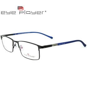 Marco óptico del metal de la moda de las lentes de la alta calidad de encargo al por mayor con el templo TR90
