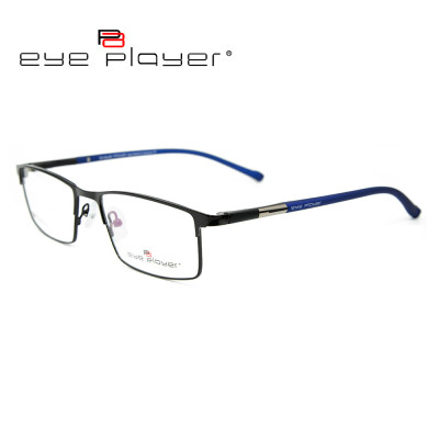 Wholesale factory custom high quality eyeglasses fashion metal optical frame with TR90 temple