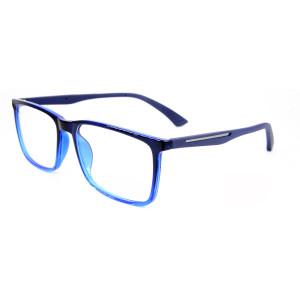 Yüksek kalite yeni moda sözleşmeli stil gözlükler TR90 gözlükler optik çerçeveleri rahat