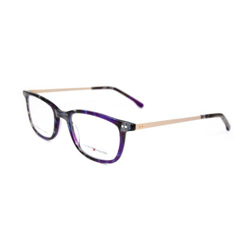 Gafas de metal de estilo nuevo contratadas de alta calidad hechas a mano con acetato fino montura de gafas ópticas