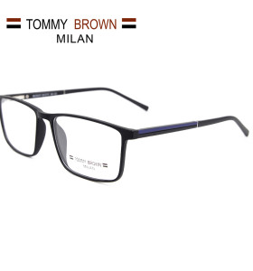 Marcos de gafas ópticos TR90 con diseño de nuevo modelo promocional marcos de gafas cómodos para hombres