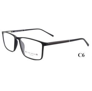 Venta al por mayor de nuevos marcos de gafas de gafas de deporte de moda promocional promocional TR90 para hombres