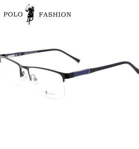 Fábrica promocional nuevo estilo clásico contratado gafas de metal tr90 Marco de anteojos blandos