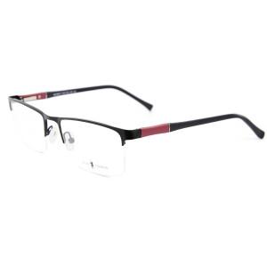 Promosyon fabrika kaynağı yeni klasik sözleşmeli stil metal gözlük tr90 Yumuşak gözlük çerçevesi