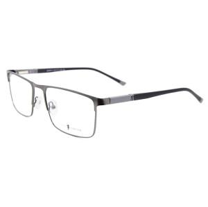 Çin fabrika özel moda tasarım metal gözlük çerçevesi TR90 tapınak optik gözlük ucuz fiyat