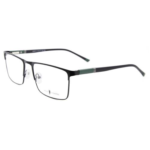 Precio barato barato de las lentes ópticas del templo TR90 del marco del espectáculo del metal del diseño de la moda de la fábrica de China