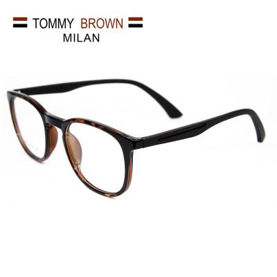 Promoción al por mayor nuevo estilo de moda gafas ovales TR90 gafas ópticas marco marco precios baratos