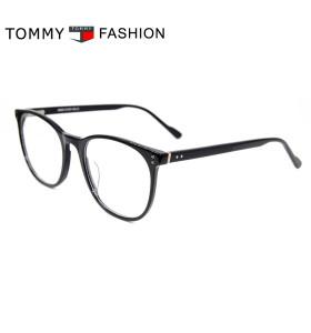 أعلى بيع جديد أزياء التعاقد نمط النظارات إطارات رقيقة خلات جولة النظارات البصرية أفضل جودة