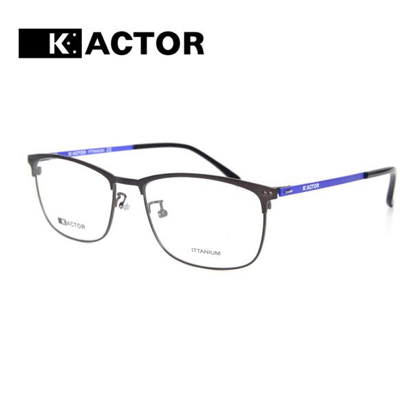 Sıcak satış Yeni moda stil esnek metal gözlük çerçeveleri titanyum optik gözlük hafif