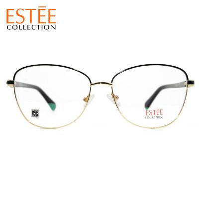 مصنع مخصص الموضة نظارات معدنية مرونة الربيع النظارات البصرية إطارات مع حجر الراين