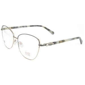 Fábrica personalizada nueva moda gafas metal elasticidad primavera gafas ópticas marcos con diamantes de imitación