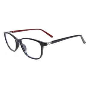 Mejor calidad promocional nuevo estilo de moda anteojos TR90 ligeros marcos ópticos de gafas