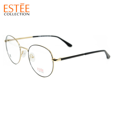 New fashion luxury style metal eyewear frames classical round optical eyeglasses best quality