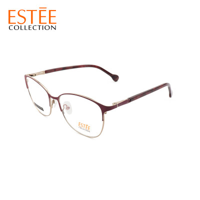 Top sale Guangzhou Factory custom metal fashion spectacles steel optical cat eye glasses frames