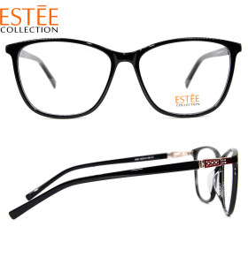 New arrival hot sale diamond eyeglasses Ultra thin acetate optical eyewear frames for ladies
