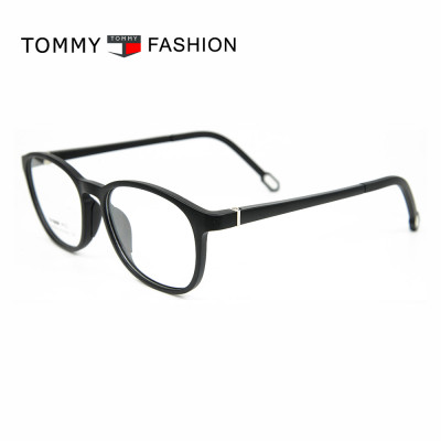 Promotional new factory custom spectacles round TR90 Soft optical eyeglasses frames young children