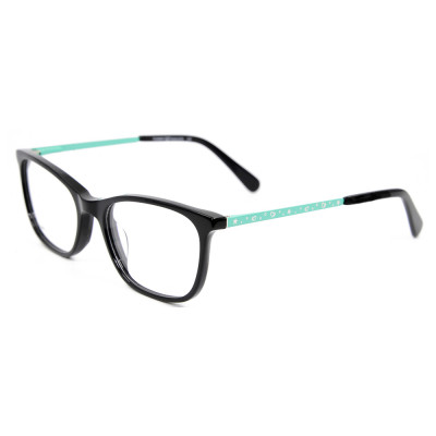 Wholesale china custom Floral pattern Fashion Eyewears Acetate eyeglasses frames for children