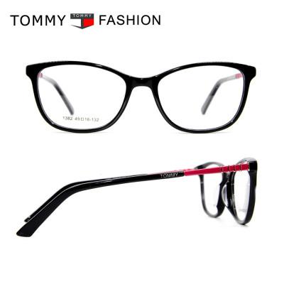 Ready stock new bright color fashion pattern eyewears Acetate eyeglasses frames children