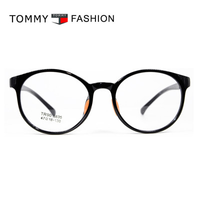 Latest factory custom round spectacles frames soft TR90 optical eyeglasses young children