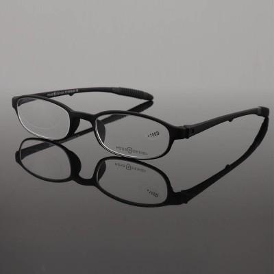 الصين مصنع العرض الترويجية جديد أزياء فريدة من نوعها نمط TR90 لينة نظارات القراءة البصرية مع الحقائب