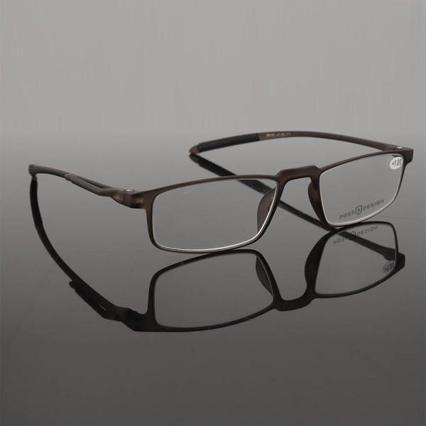 Nuevo modelo de moda diseño simple marcos ópticos de plástico TR90 gafas de lectura de calidad suave hechas en china