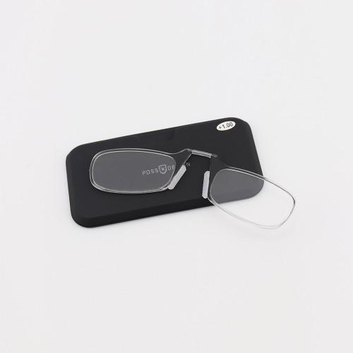 La fábrica más popular personalizada nueva moda mini diseño de billetera gafas de lectura óptica sin brazos